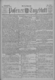 Posener Tageblatt 1902.09.20 Jg.41 Nr441
