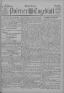 Posener Tageblatt 1902.09.26 Jg.41 Nr450