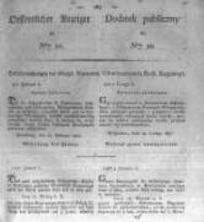 Oeffentlicher Anzeiger zum Amtsblatt No.10. der Königl. Preuss. Regierung zu Bromberg. 1827