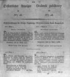 Oeffentlicher Anzeiger zum Amtsblatt No.16. der Königl. Preuss. Regierung zu Bromberg. 1827