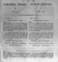 Oeffentlicher Anzeiger zum Amtsblatt No.30. der Königl. Preuss. Regierung zu Bromberg. 1827