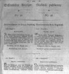 Oeffentlicher Anzeiger zum Amtsblatt No.36. der Königl. Preuss. Regierung zu Bromberg. 1827