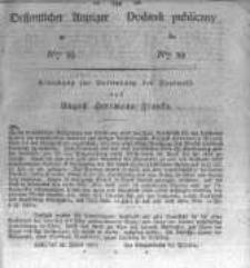 Oeffentlicher Anzeiger zum Amtsblatt No.39. der Königl. Preuss. Regierung zu Bromberg. 1827