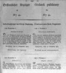 Oeffentlicher Anzeiger zum Amtsblatt No.41. der Königl. Preuss. Regierung zu Bromberg. 1827