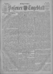 Posener Tageblatt 1903.01.13 Jg.42 Nr20