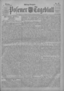 Posener Tageblatt 1903.01.26 Jg.42 Nr42