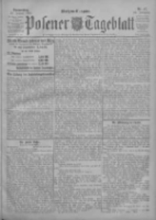 Posener Tageblatt 1903.01.29 Jg.42 Nr47