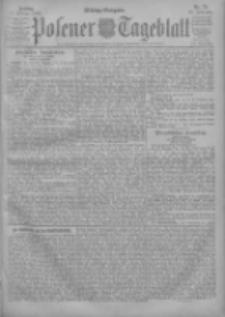 Posener Tageblatt 1903.02.13 Jg.42 Nr74