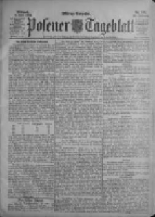 Posener Tageblatt 1903.04.08 Jg.42 Nr166