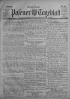 Posener Tageblatt 1903.04.29 Jg.42 Nr198