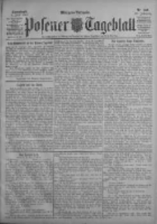 Posener Tageblatt 1903.06.06 Jg.42 Nr259