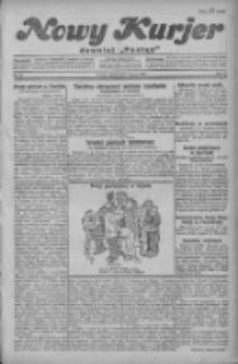 """Nowy Kurjer: dawniej """"Postęp"""" 1930.03.07 R.41 Nr55"""