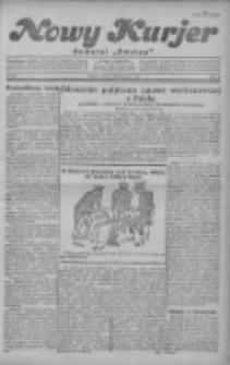 """Nowy Kurjer: dawniej """"Postęp"""" 1930.03.15 R.41 Nr62"""