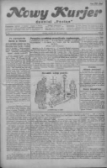 """Nowy Kurjer: dawniej """"Postęp"""" 1930.03.18 R.41 Nr64"""