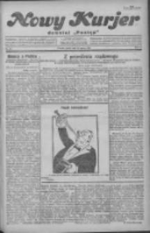 """Nowy Kurjer: dawniej """"Postęp"""" 1930.03.21 R.41 Nr67"""