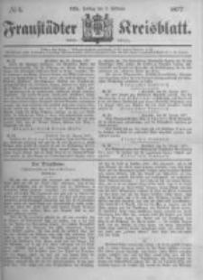 Fraustädter Kreisblatt. 1877.02.02 Nr5