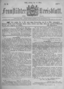 Fraustädter Kreisblatt. 1877.03.16 Nr11