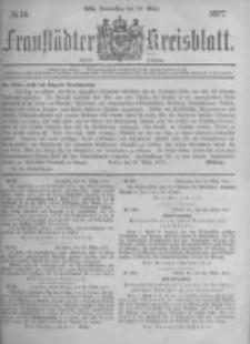 Fraustädter Kreisblatt. 1877.03.29 Nr13