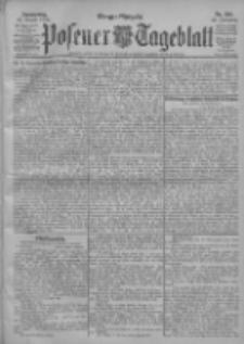 Posener Tageblatt 1903.08.27 Jg.42 Nr399