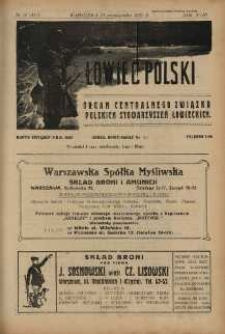 Łowiec Polski 1925 Nr16