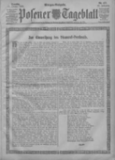 Posener Tageblatt 1903.10.11 Jg.42 Nr477