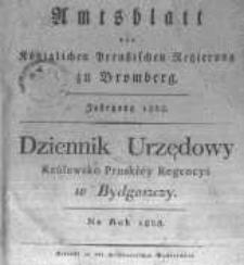 Amtsblatt der Königlichen Preussischen Regierung zu Bromberg. 1828.01.04 No.1