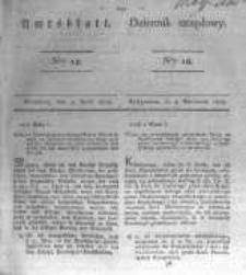 Amtsblatt der Königlichen Preussischen Regierung zu Bromberg. 1828.04.04 No.14