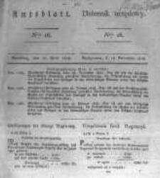Amtsblatt der Königlichen Preussischen Regierung zu Bromberg. 1828.04.18 No.16