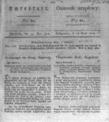 Amtsblatt der Königlichen Preussischen Regierung zu Bromberg. 1828.05.23 No.21