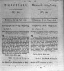 Amtsblatt der Königlichen Preussischen Regierung zu Bromberg. 1828.07.25 No.30