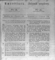 Amtsblatt der Königlichen Preussischen Regierung zu Bromberg. 1828.11.07 No.45