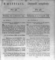 Amtsblatt der Königlichen Preussischen Regierung zu Bromberg. 1828.11.14 No.46