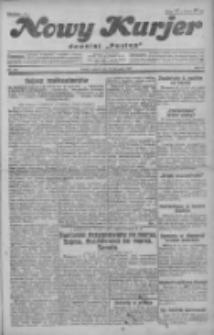 """Nowy Kurjer: dawniej """"Postęp"""" 1930.11.28 R.41 Nr276"""