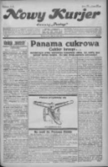 """Nowy Kurjer: dawniej """"Postęp"""" 1931.05.13 R.42 Nr110"""