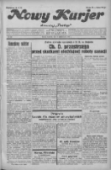 """Nowy Kurjer: dawniej """"Postęp"""" 1931.10.22 R.42 Nr244"""