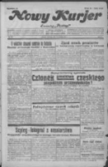 """Nowy Kurjer: dawniej """"Postęp"""" 1931.12.31 R.42 Nr301"""