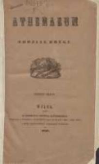 Athenauem: pismo poświęcone historii, literaturze, sztukom, krytyce itd. 1842 Nr2