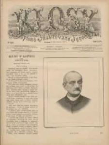 Kłosy: czasopismo ilustrowane, tygodniowe, poświęcone literaturze, nauce i sztuce 1888.06.16(28) T.46 Nr1200