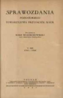 Sprawozdania Poznańskiego Towarzystwa Przyjaciół Nauk