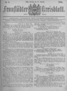 Fraustädter Kreisblatt. 1881.01.21 Nr4