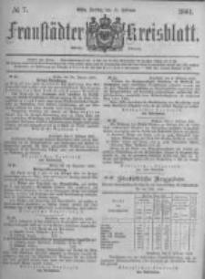 Fraustädter Kreisblatt. 1881.02.11 Nr7