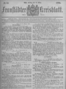Fraustädter Kreisblatt. 1881.03.18 Nr12