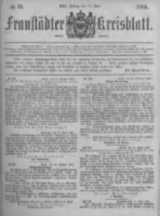 Fraustädter Kreisblatt. 1881.06.24 Nr26