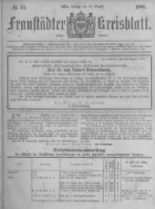 Fraustädter Kreisblatt. 1881.08.19 Nr34