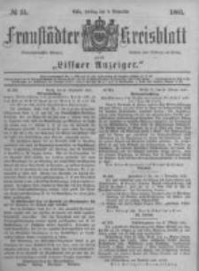 Fraustädter Kreisblatt. 1881.11.04 Nr51