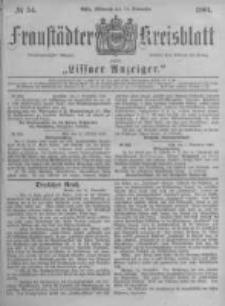 Fraustädter Kreisblatt. 1881.11.16 Nr54