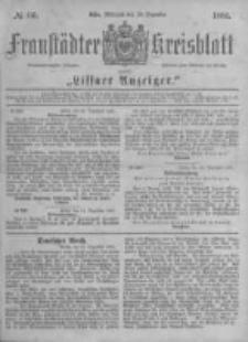 Fraustädter Kreisblatt. 1881.12.28 Nr66