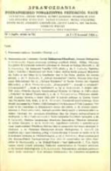 Sprawozdania Poznańskiego Towarzystwa Przyjaciół Nauk. 1965 R.29