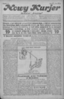"""Nowy Kurjer: dawniej """"Postęp"""" 1930.11.04 R.41 Nr255"""