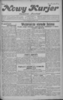 """Nowy Kurjer: dawniej """"Postęp"""" 1930.12.12 R.41 Nr287"""